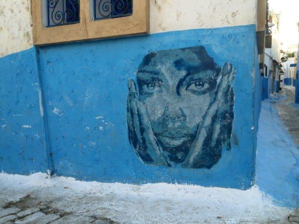 Rabat: Streetart im Viertel der Kasbah - Foto © Welz