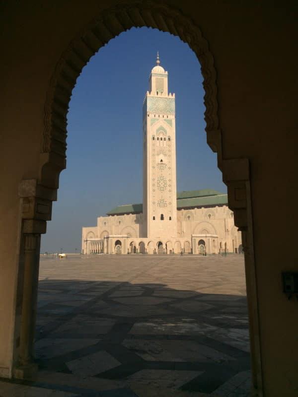 Moschee Hassan II. in Casablanca - Foto © Welz