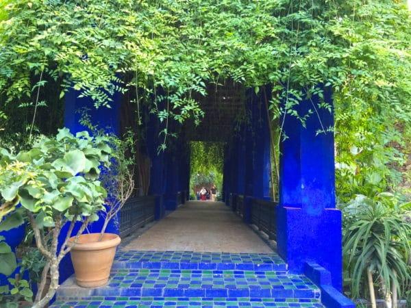 Jardin Majorelle in Marrakech. Foto © Welz