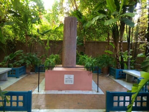 Jardin Majorelle Marrakech: Memorial YSL © Welz