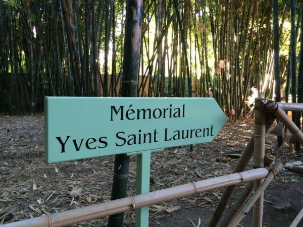 Jardin Majorelle: Erinnerung an Yves Saint Laurent. Foto © Welz