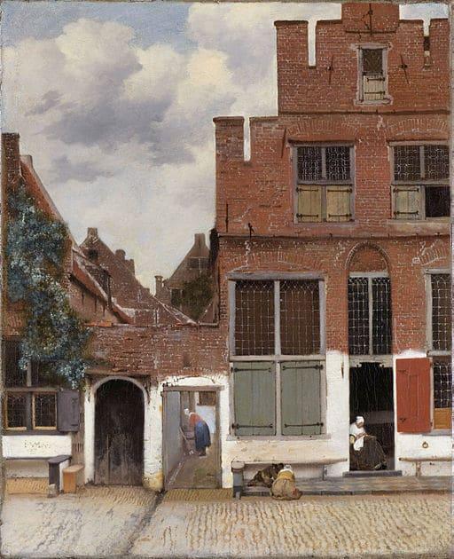 Jan Vermeer, Die Straße von Delft [Public domain] via Wikimedia Commons