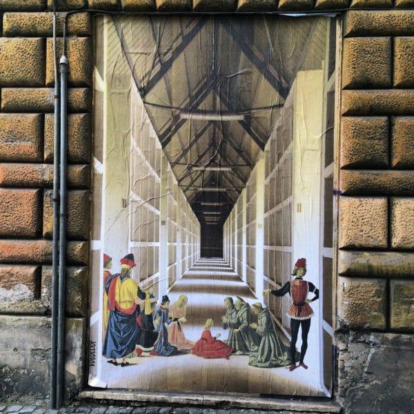 Rom: Streetart von ROBOCOOP - Foto 2016 © Welz