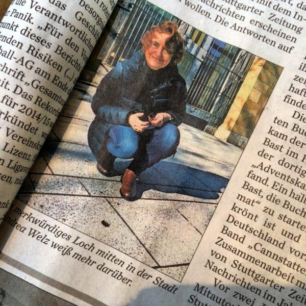 Stuttgarter Zeitung - Stadtausgabe Innenstadt 17.02.2016 - Foto von Eva-Maria Bast