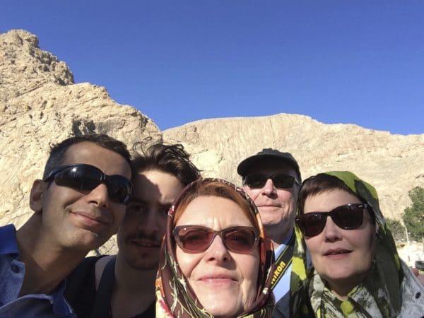 Unterwegs im Iran - zu fünft! Foto © Welz (2016)