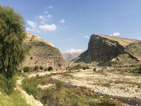 Die Chowgan-Schlucht bei Bishapur IRAN. Foto © Welz (2016)