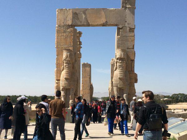 Persepolis: Das Tor der Nationen. Foto © Welz (2016)