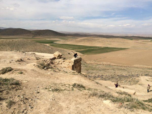 Pasargadae: Plattform und Festung. Foto © Welz (2016)