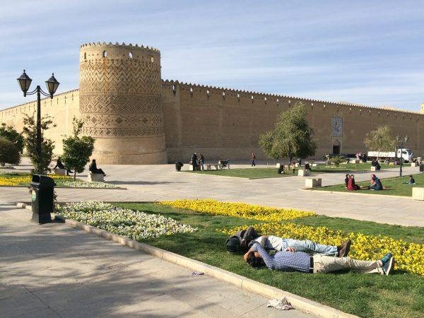 Frühling in Shiraz: Festung Karim Khan. Foto © Welz (2016)