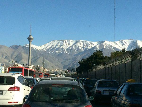 Milad-Tower: das neue Wahrzeichen von Teheran. Foto © Welz (2016)