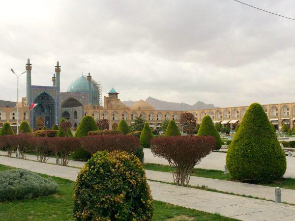 IRAN: Meidan Platz mit Iman-Moschee in Isfahan. Foto © Welz (2016)