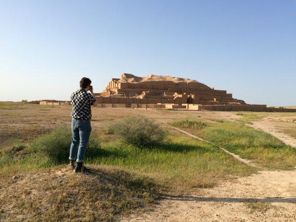 UNESCO-Weltkulturerbe: Stufenpyramide von Chogha Zanbil im Iran. Foto © Welz (2016)
