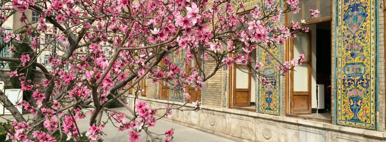 IRAN: Golestan-Palast in Teheran. Foto © Welz (2016)