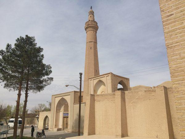 Nain: die alte Jame-Moschee wurde um 960 nC erbaut. Foto © Welz (2016)