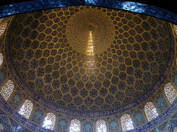 Isfahan: Kuppel der Lotfullah-Moschee. Foto © Welz (2016)