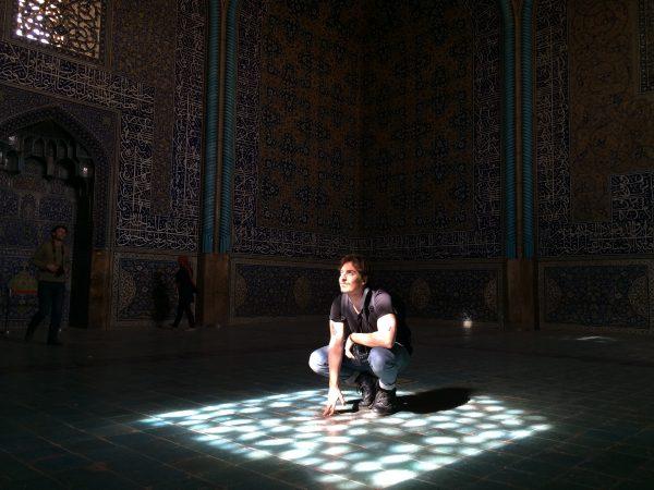 Ein magischer Ort. Unter der Kuppel der Lotfullah-Moschee in Isfahan. Foto © Welz (2016)
