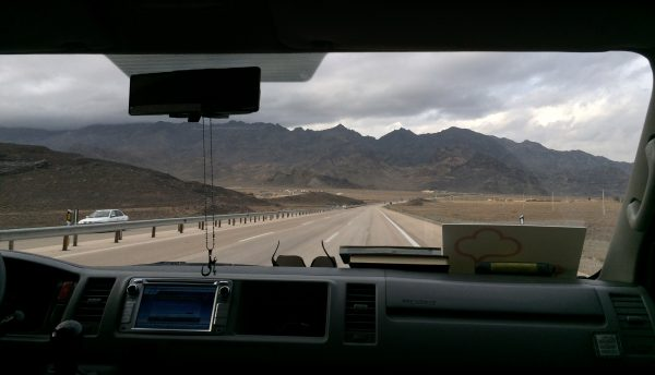 On the road again: zurück nach Teheran. Foto © Welz (2016)