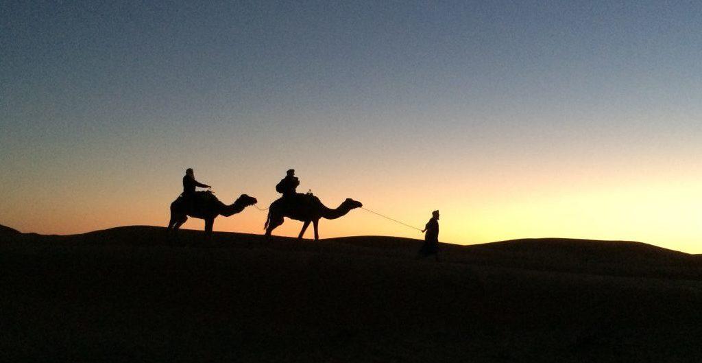 Marokko Erg Chebbi - Foto © Welz 2015