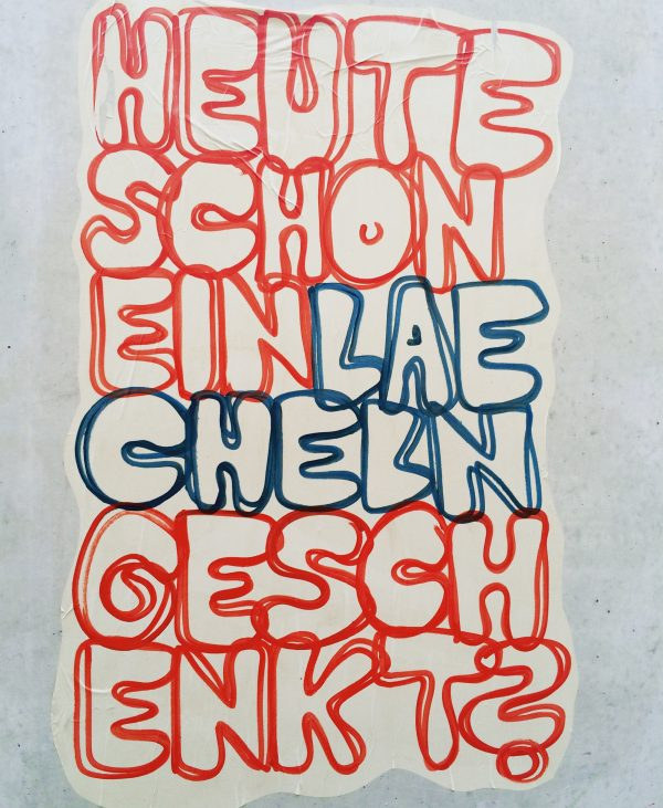 Streetart ist ein Geschenk für die Stadt: Fred Collant in Stuttgart. Foto © Welz