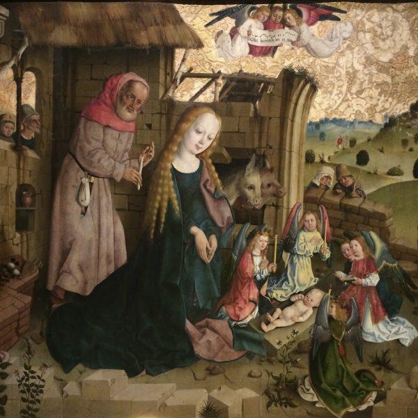 Rohrdorfer Altar in der Staatsgalerie Stuttgart, um 1480-85. Foto © Welz