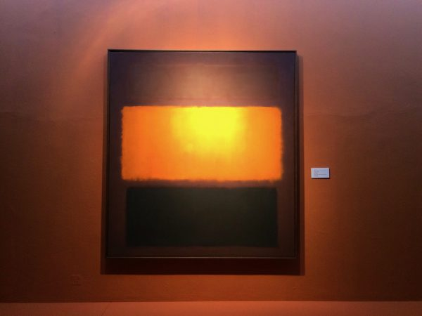 TMOCA Mark Rothko, Sienna, Orange & Black on Dark Brown, 1962 - Foto © Welz