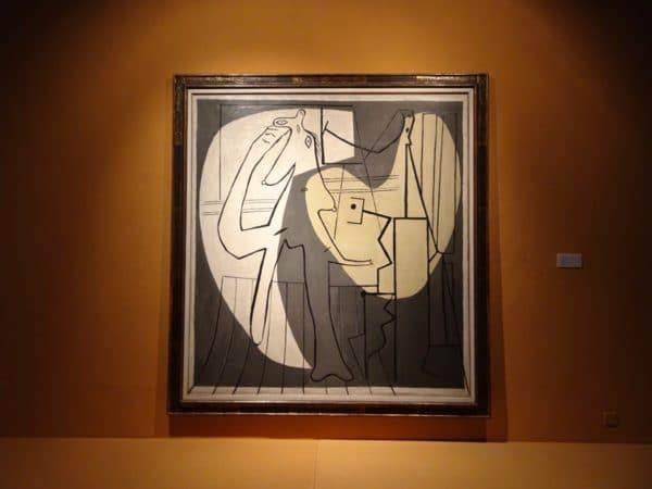 TMOCA Pablo Picasso, Le Peintre e son Modele, 1927 - Foto © Welz
