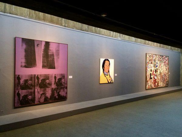 TMOCA Andy Warhol und Jean Dubuffet. Foto © Welz