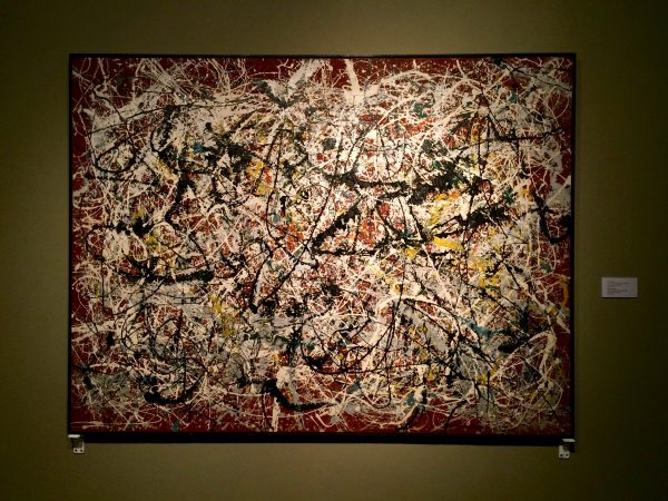 TMOCA Jackson Pollock, Mural on Indian Red Ground, 1950