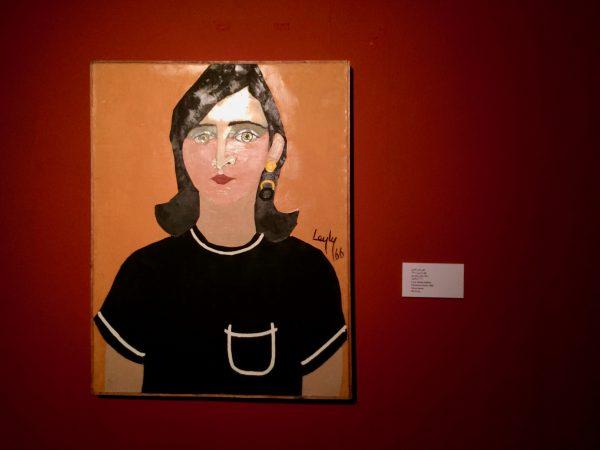 TMOCA MatinDaftar Lili, Portrait of Nasrin, 1966